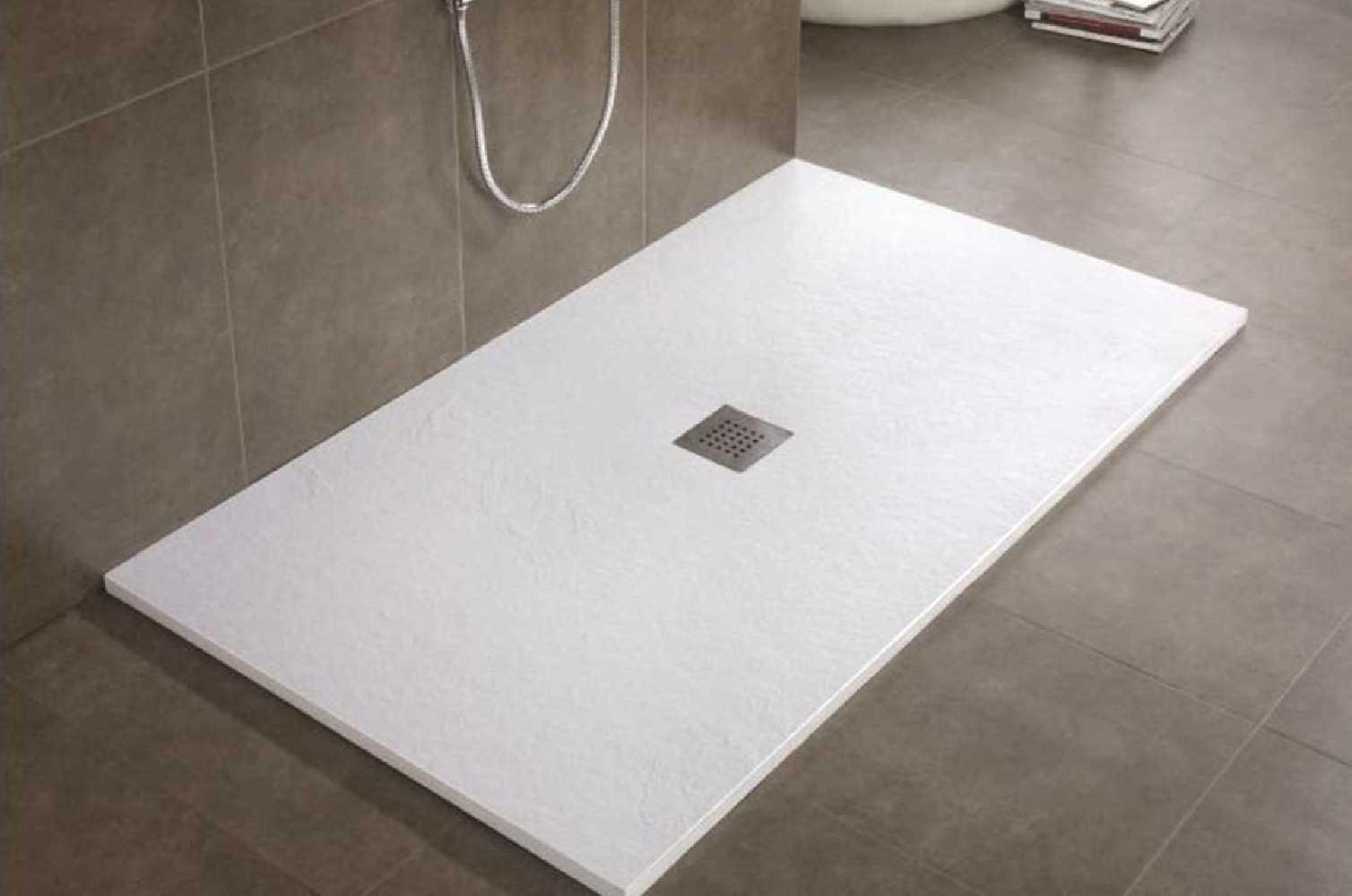 receveur de douche r sigr s de 100x100 100x200. Black Bedroom Furniture Sets. Home Design Ideas