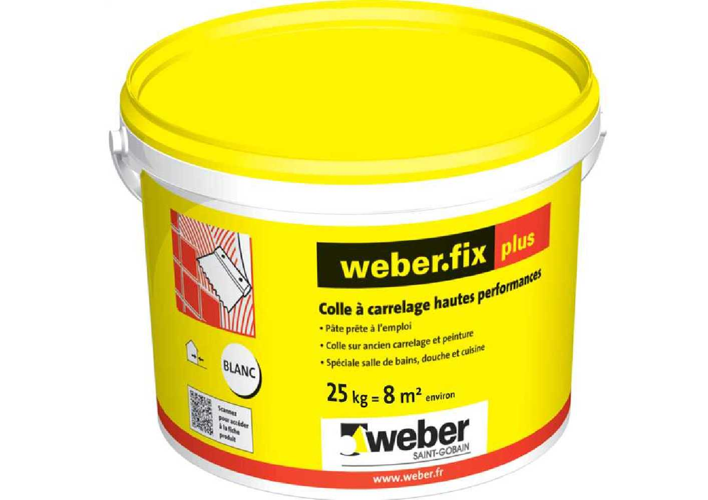 Weber.fix Plus - Seau de 25 Kg