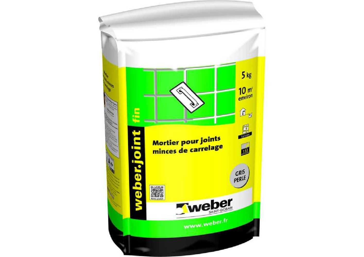 Weber.joint fin 5 Kg