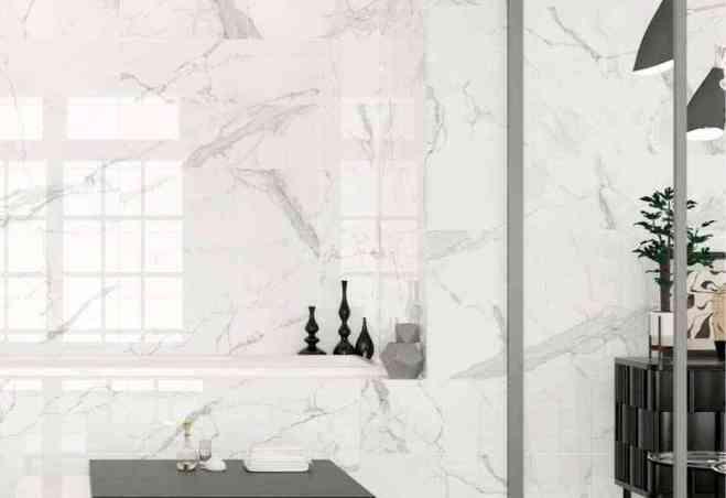 Ambiance salle de bain Statuario Durstone