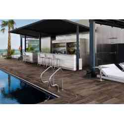 Ambiance piscine carrelage Travel  Westbrown  T20 Supergrès