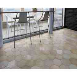 carrelage tomette 17,5x20 Heritage Wheat Equipe