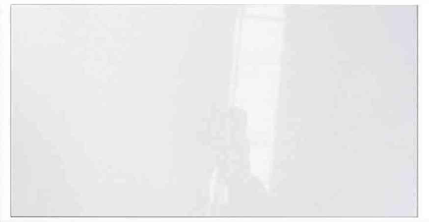 Faïence blanche brillante Corona 25X40 Saloni