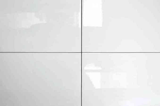 Faïence blanche 15x20 brillant