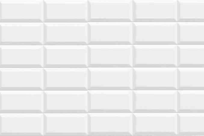 Metro blanc mat 7,5X15