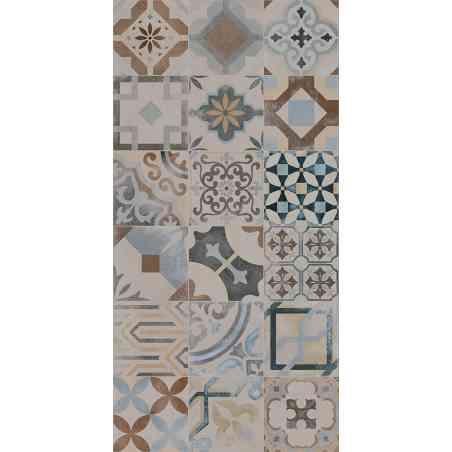 Ambiance Carrelage Cementine 20X20 aspect ciment  Mix color
