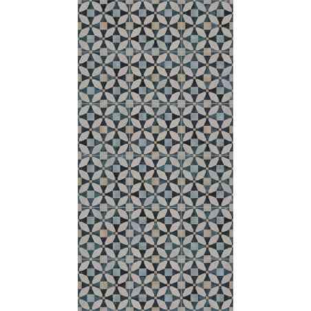 Ambiance Carrelage Cementine 20X20 aspect ciment colors