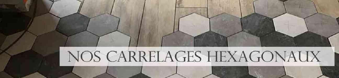 Carrelage hexagonal intérieur vente en ligne et en magasin